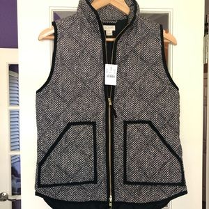 J. Crew - Women's - Quilted Outerwear Vest Size XS